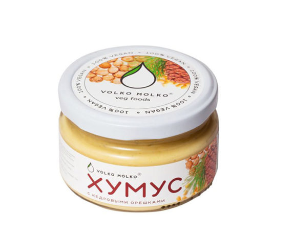Volko Molko Закуска Хумус «С кедровыми орешками»
