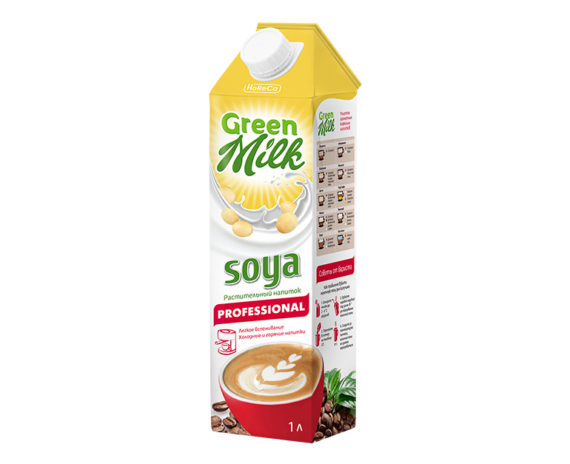 Green Milk Professional соевое молоко